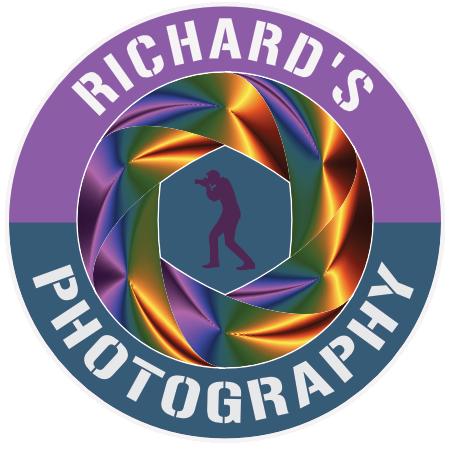 Richard's Photography Logo (Camera Lens)
